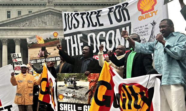 7 Apr 2014: Documents reveal extent of Shell and Rio Tinto lobbying in human rights case, The Guardian