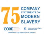 UK Modern Slavery Act: First 75 company reports