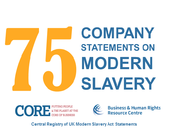 UK Modern Slavery Act: First 75 company reports in