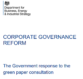 CORE reacts to Government response to Corporate Governance Green Paper consultation