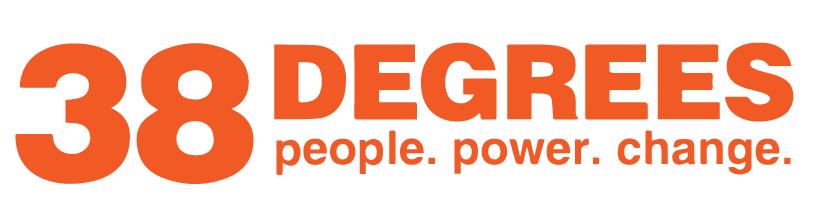 38 Degrees logo