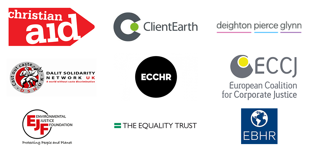 Corporate Justice Coalition Partner Logos